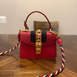 Gucci Mini Sylvie Shoulder bag Crossbody Satchel